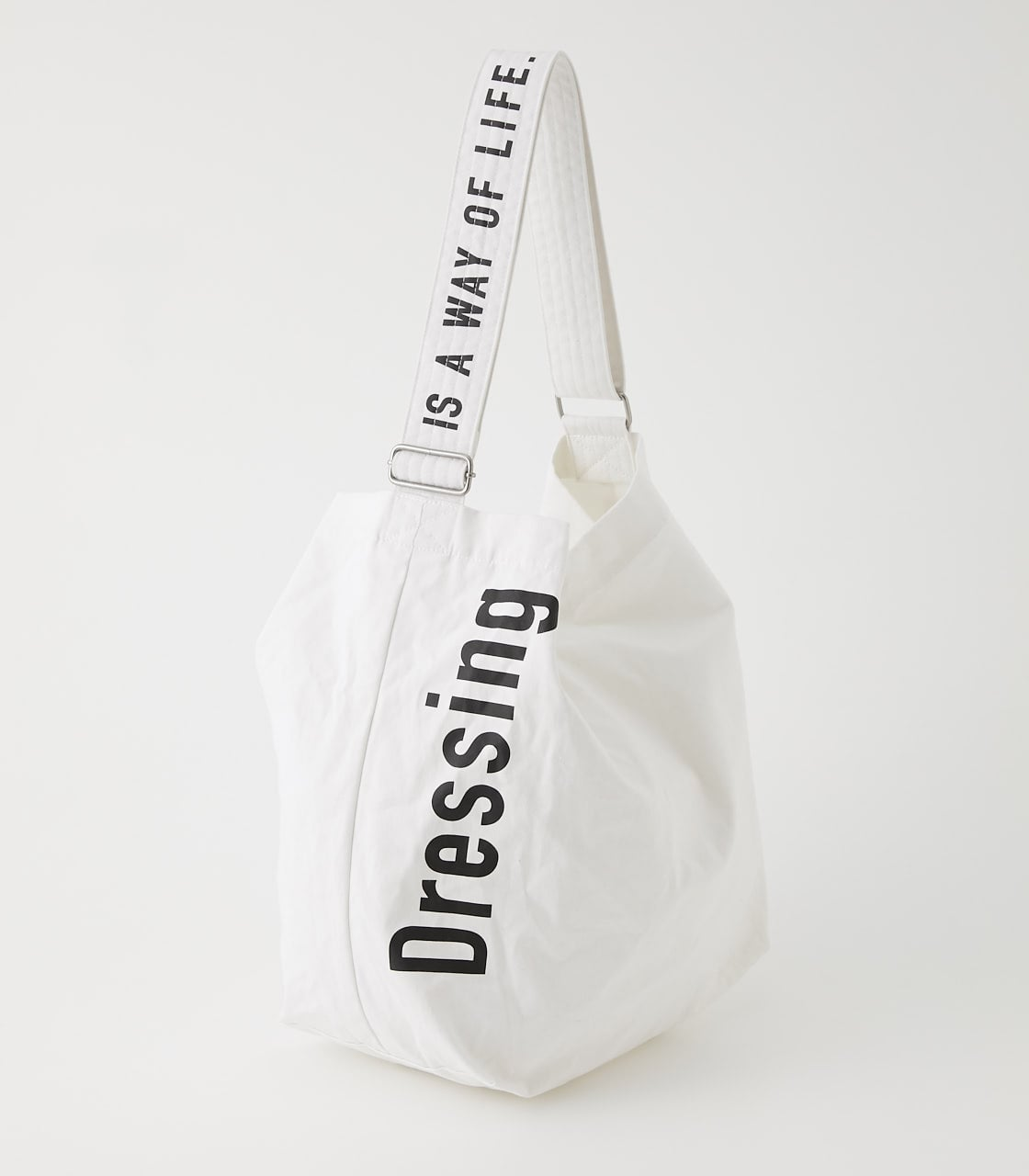 【AZUL BY MOUSSY】DRESSING TOTE BAG 詳細画像 WHT 1