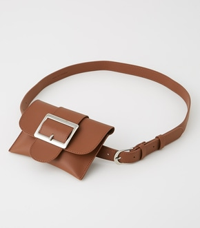 SQUARE BUCKLE PORCH SET BELT