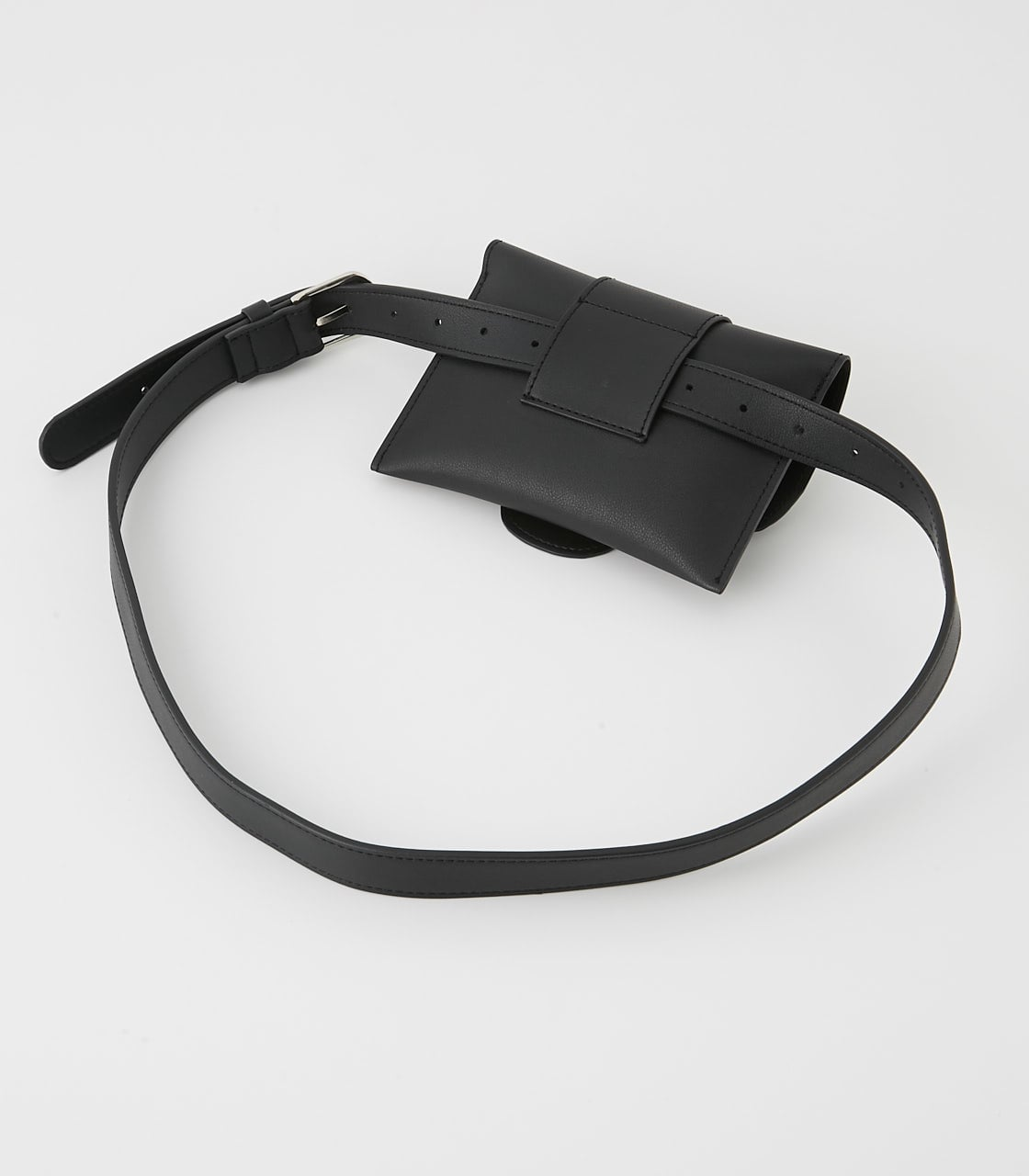【AZUL BY MOUSSY】SQUARE BUCKLE PORCH SET BELT 詳細画像 BLK 3