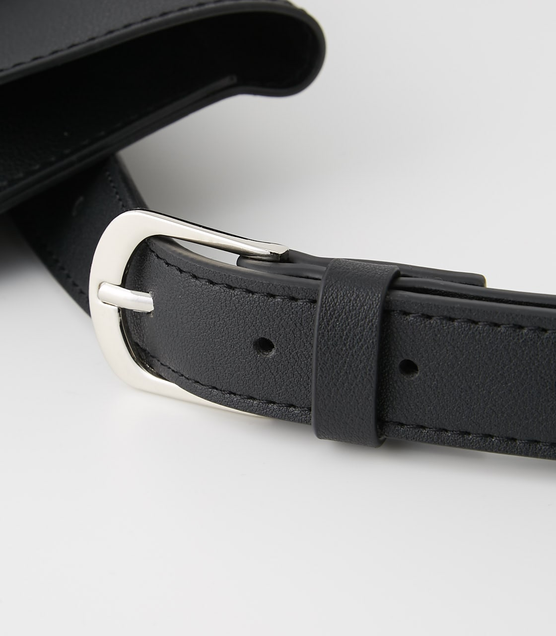 【AZUL BY MOUSSY】SQUARE BUCKLE PORCH SET BELT 詳細画像 BLK 5