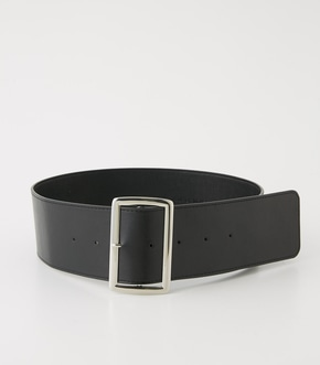 【AZUL BY MOUSSY】SQUARE BUCKLE WIDE BELT
