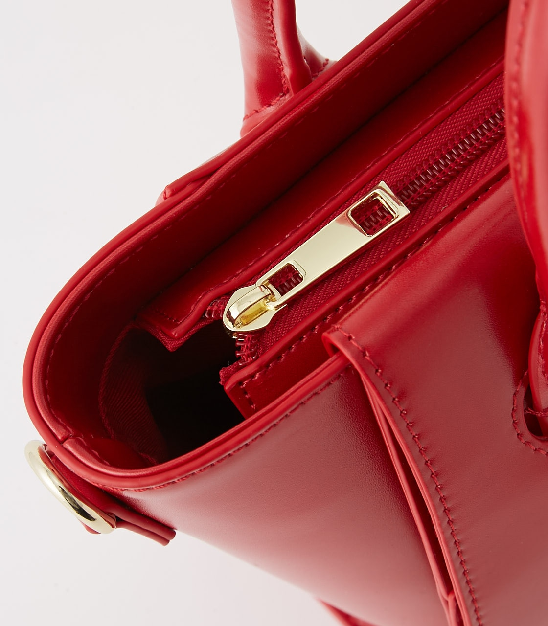 【AZUL BY MOUSSY】BELT DESIGN HAND BAG 詳細画像 RED 4