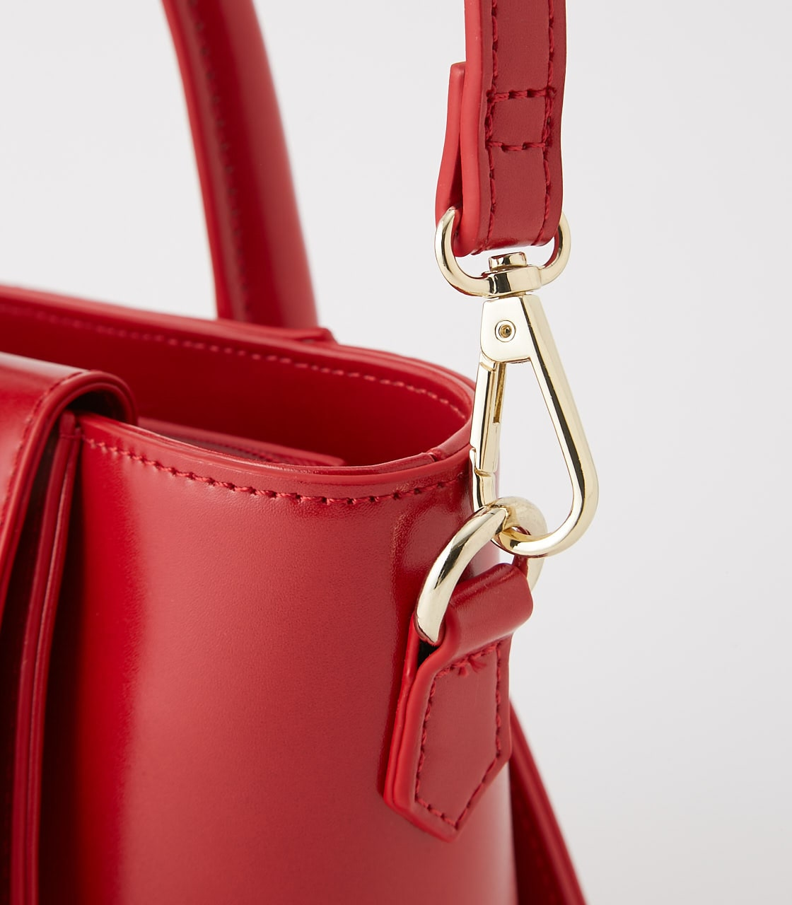 【AZUL BY MOUSSY】BELT DESIGN HAND BAG 詳細画像 RED 8
