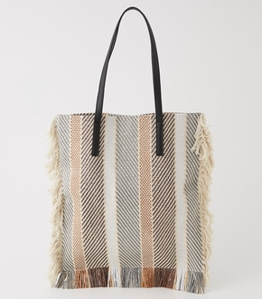 【AZUL BY MOUSSY】MULCH STRIPE TOTE BAG【MOOK50掲載 90154】
