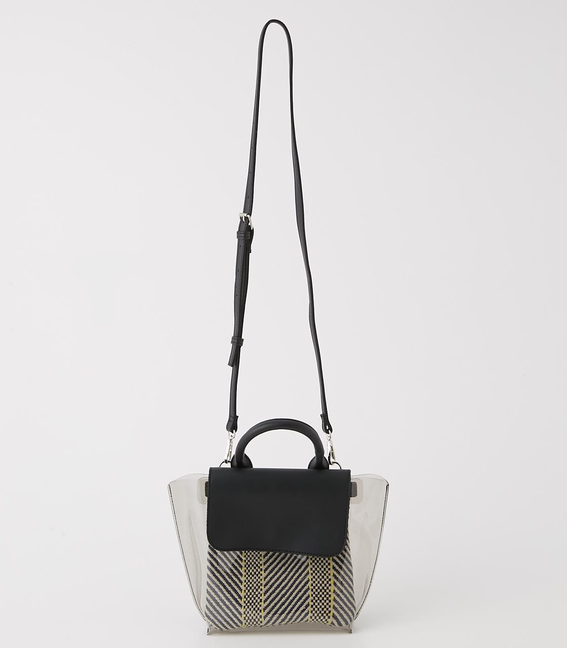 【AZUL BY MOUSSY】クリアショルダーバッグ 詳細画像 BLK 2