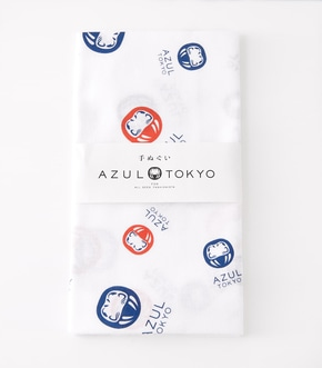 【AZUL BY MOUSSY】AZUL TOKYO 手ぬぐい