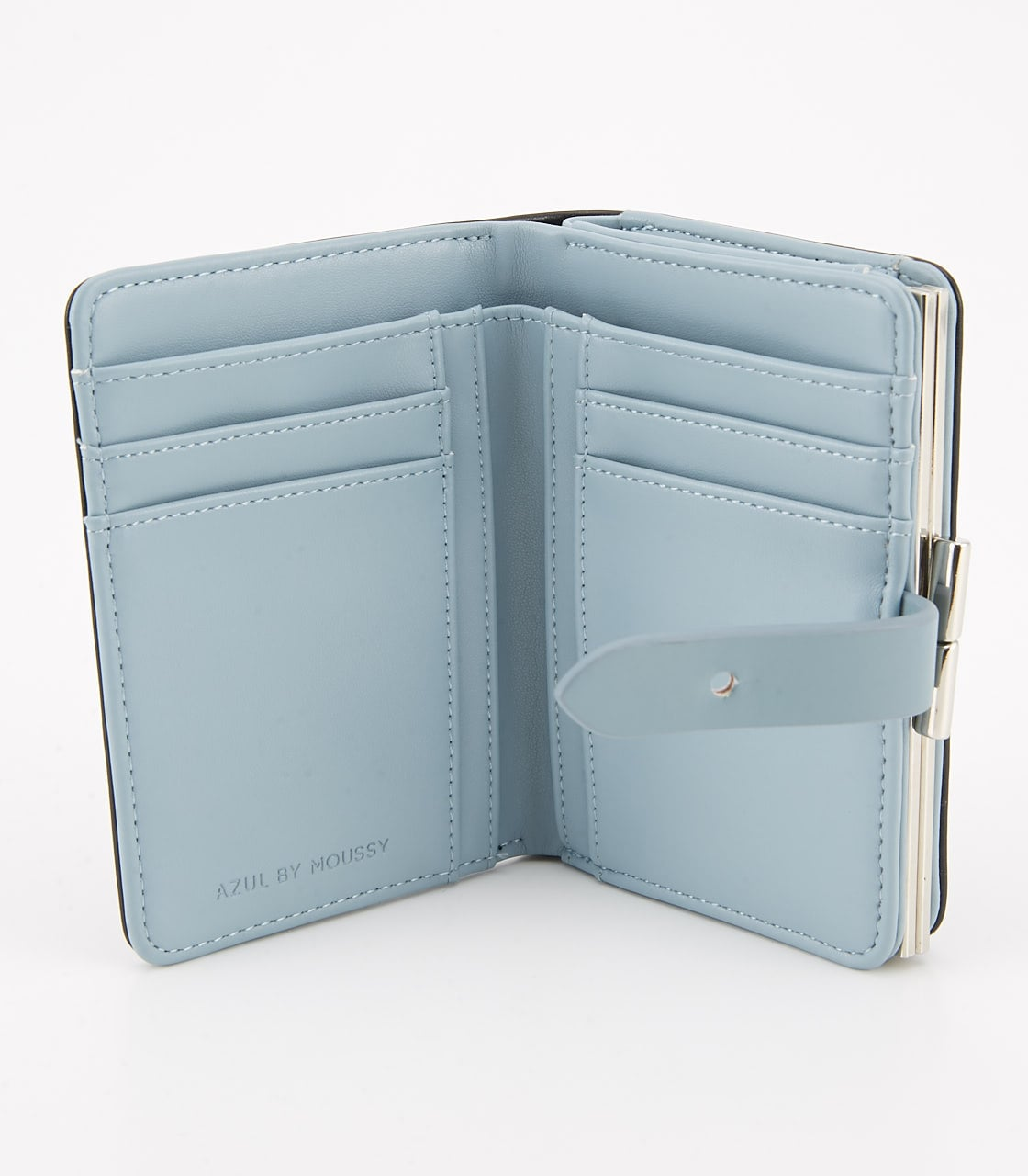 【AZUL BY MOUSSY】COLOR POINT WALLET 詳細画像 BLK 3
