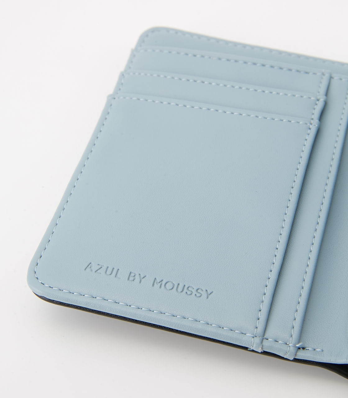 【AZUL BY MOUSSY】COLOR POINT WALLET 詳細画像 BLK 5
