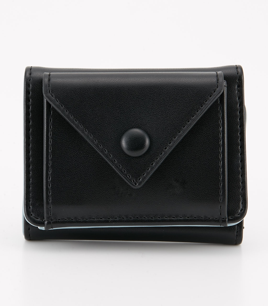 【AZUL BY MOUSSY】COLOR POINT COMPACT WALLET 詳細画像 BLK 1