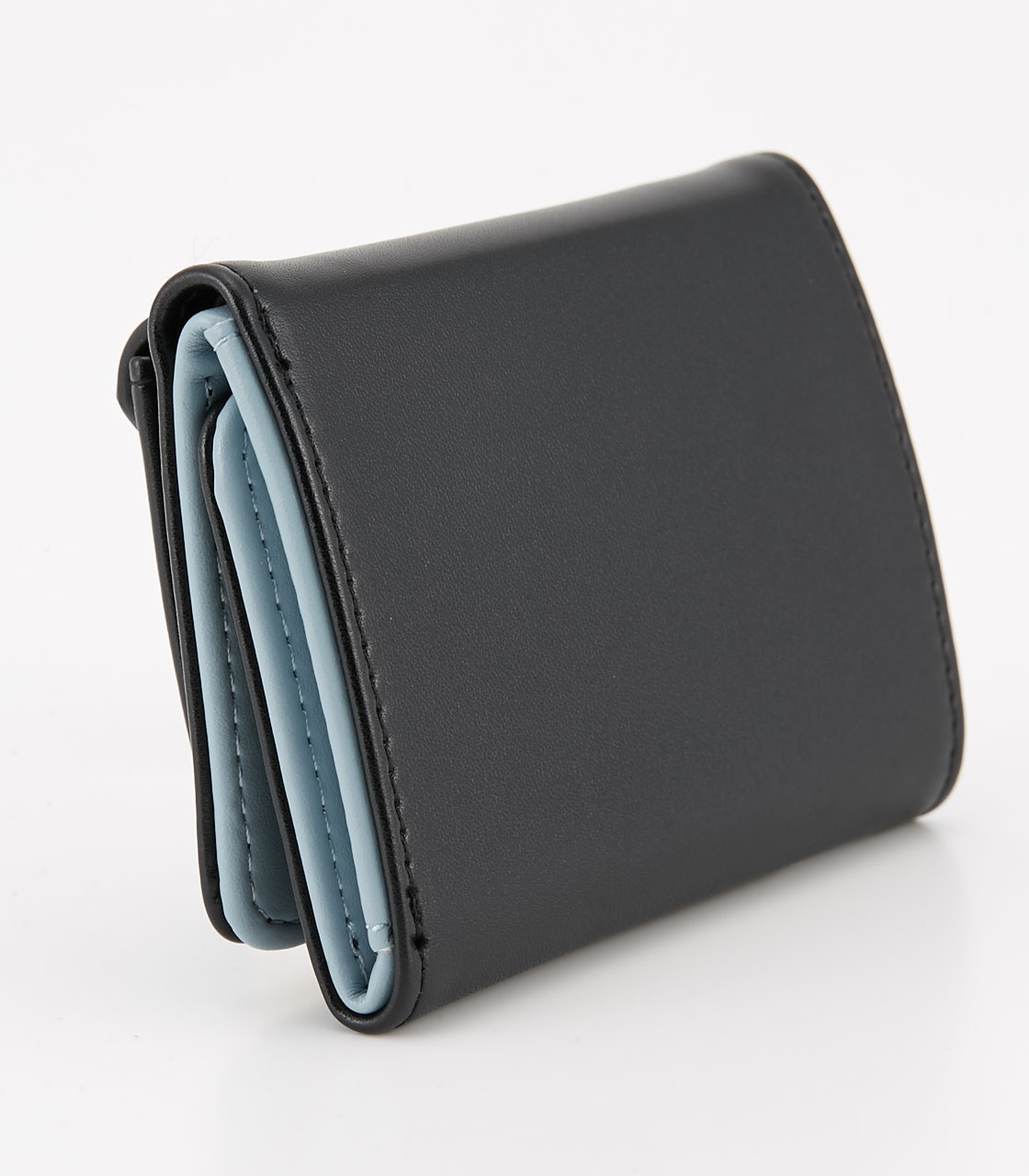 【AZUL BY MOUSSY】COLOR POINT COMPACT WALLET 詳細画像 BLK 2