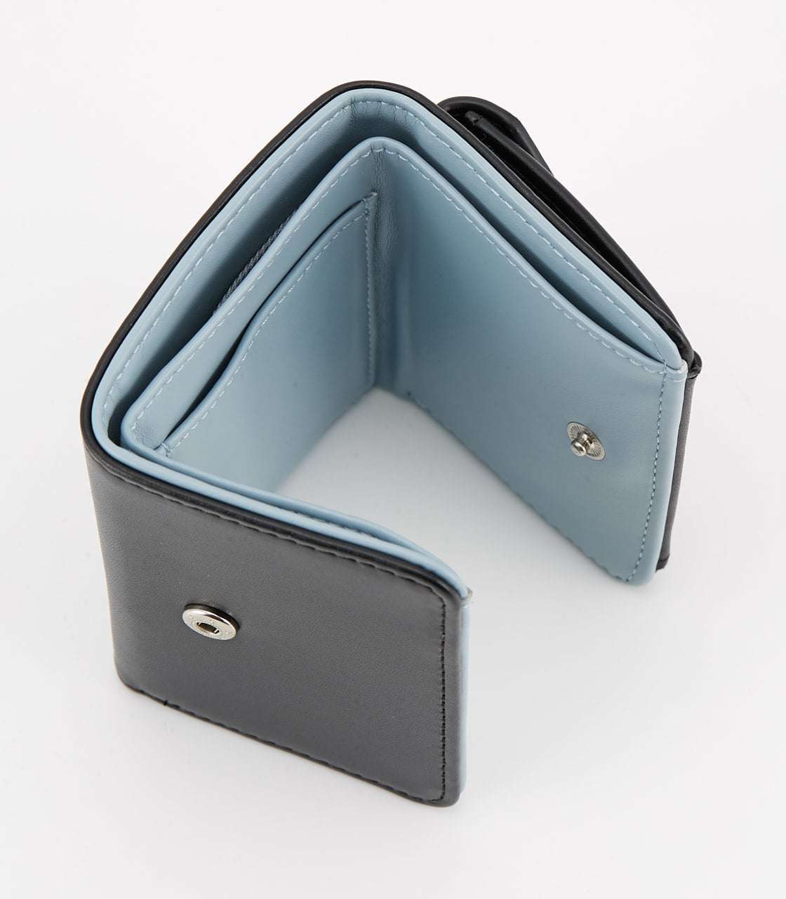 【AZUL BY MOUSSY】COLOR POINT COMPACT WALLET 詳細画像 BLK 4