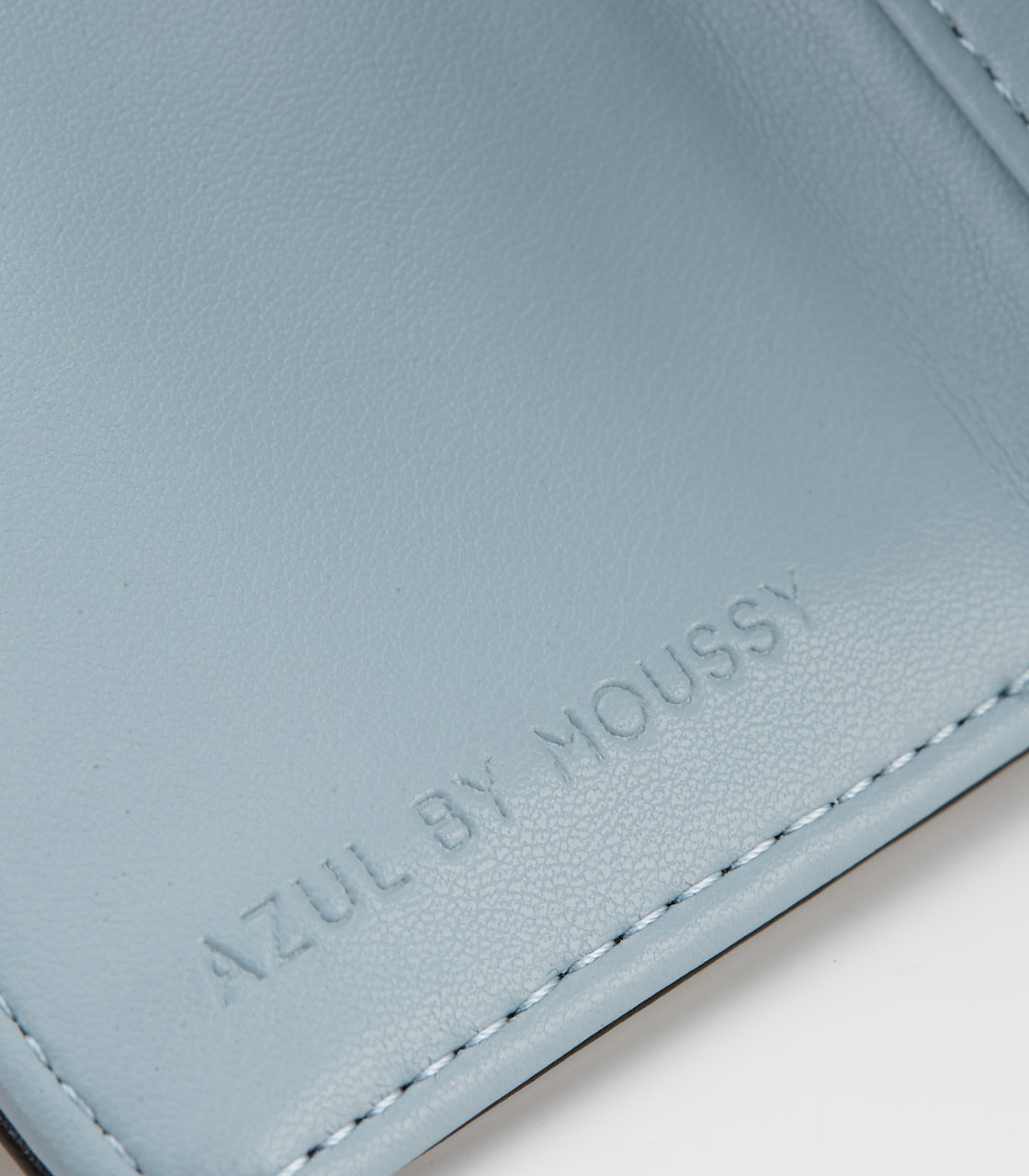 【AZUL BY MOUSSY】COLOR POINT COMPACT WALLET 詳細画像 BLK 5