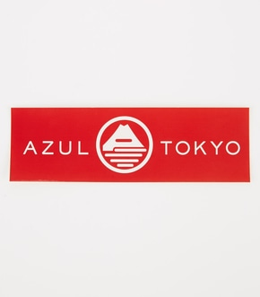 【AZUL BY MOUSSY】AZUL FUJIロングステッカー