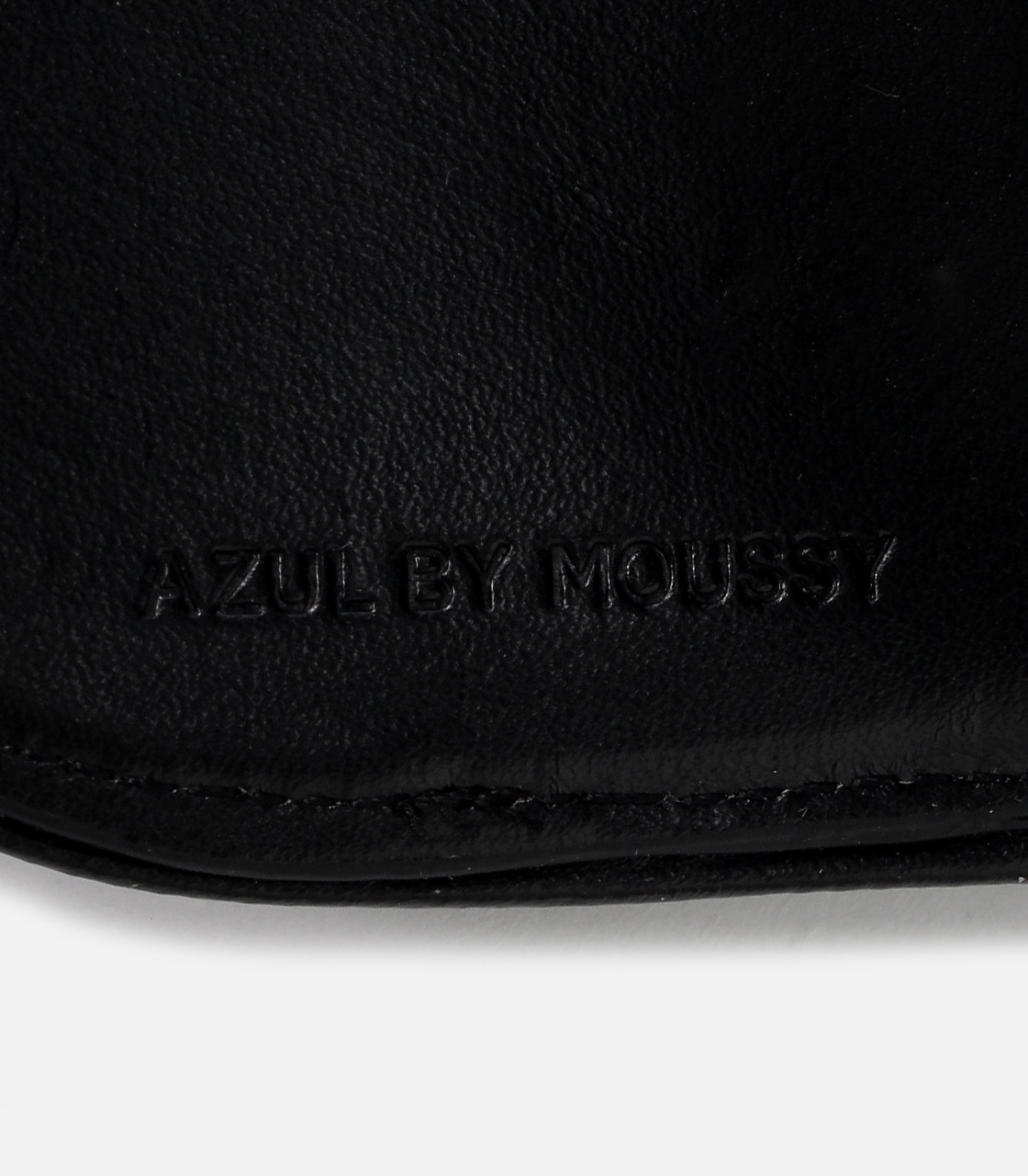 【AZUL BY MOUSSY】HARF ROUND WALLET 詳細画像 BLK 9