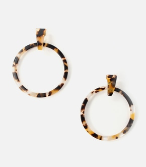 【AZUL BY MOUSSY】MARBLE WHOOP ピアス