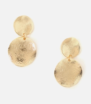 【AZUL BY MOUSSY】BUMPY MERAL ROUND EARRINGS 詳細画像