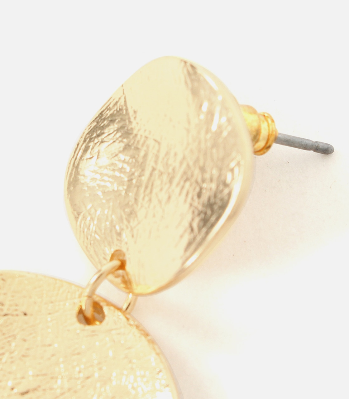 【AZUL BY MOUSSY】BUMPY MERAL ROUND EARRINGS 詳細画像 L/GLD 6