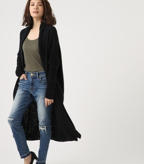 【AZUL BY MOUSSY】BIG SHAWL TOPPER CARDIGAN