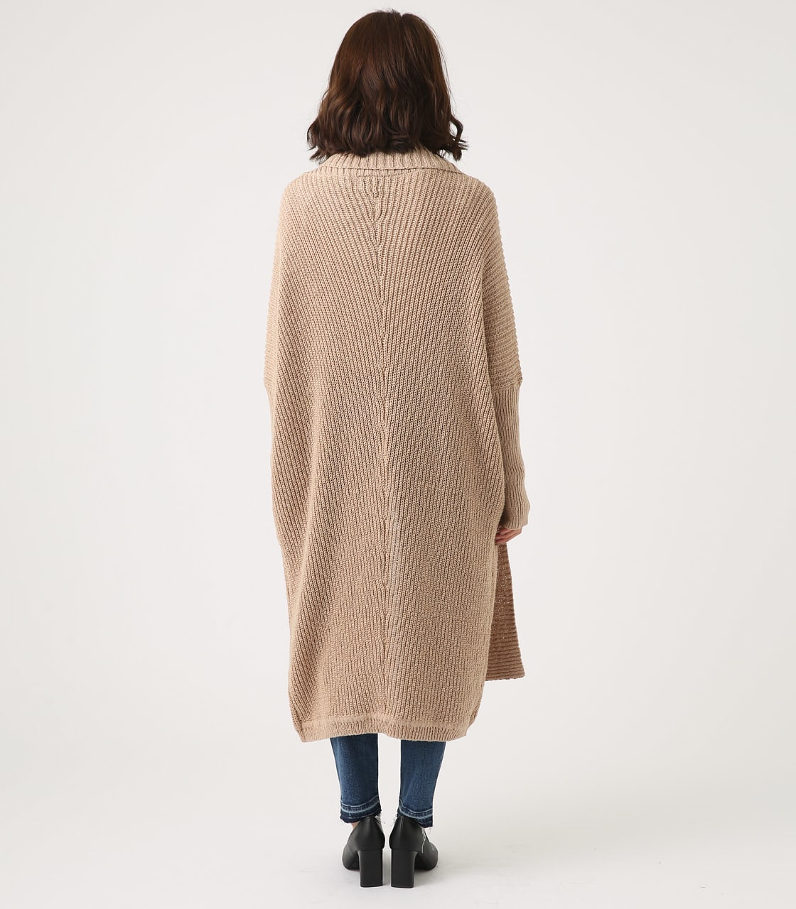 BIG SHAWL TOPPER CARDIGAN 詳細画像 BEG 7