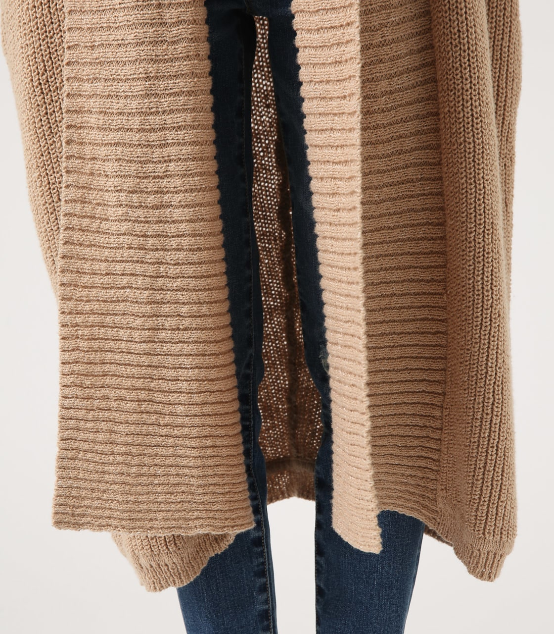 BIG SHAWL TOPPER CARDIGAN 詳細画像 BEG 9