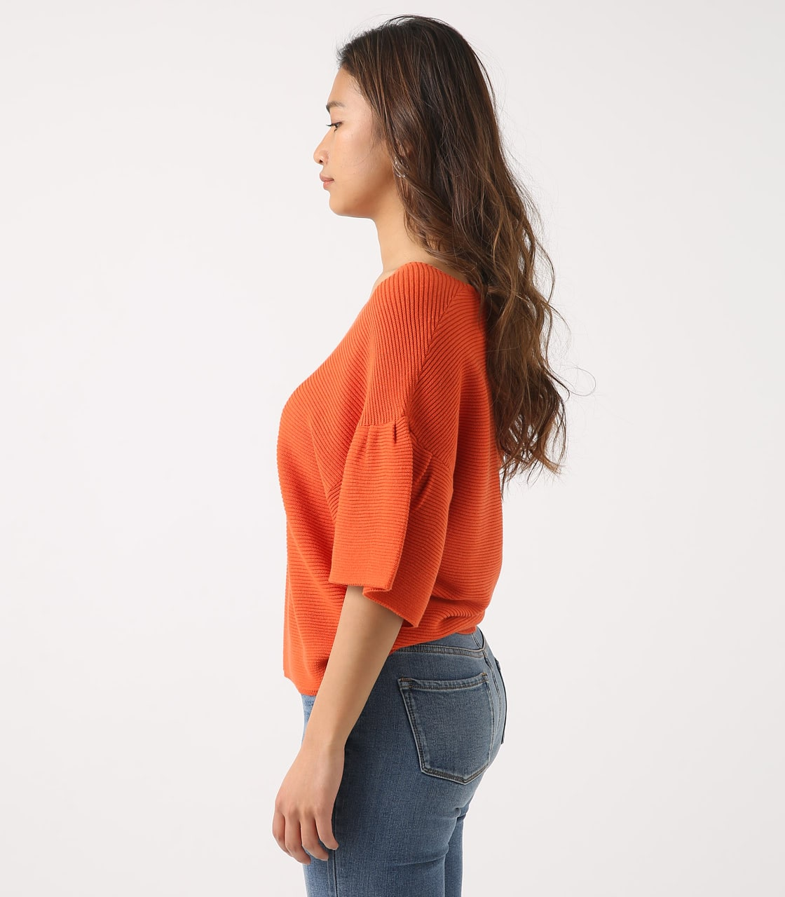 【AZUL BY MOUSSY】FLARE SLEEVE GARTER TOPS 詳細画像 ORG 6