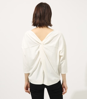 【AZUL BY MOUSSY】BACK TWIST TOPS 詳細画像