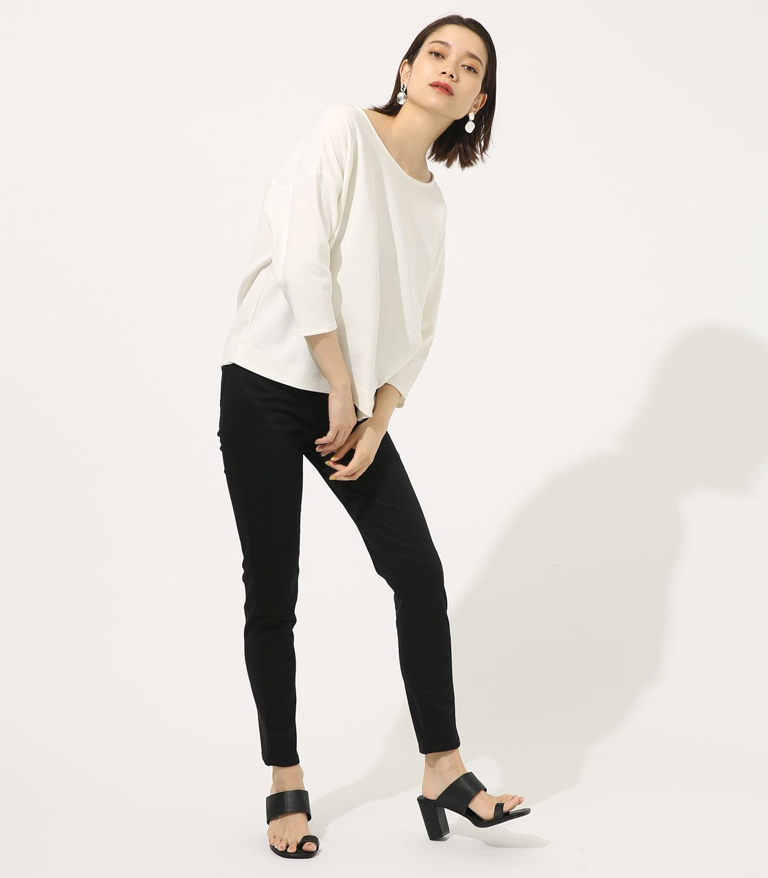 【AZUL BY MOUSSY】BACK TWIST TOPS 詳細画像 O/WHT 3