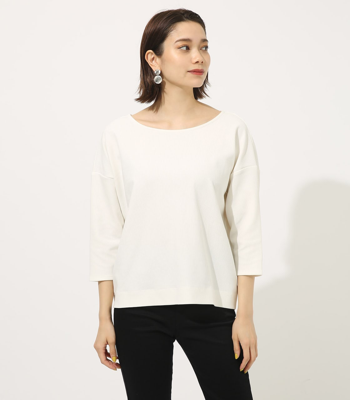 【AZUL BY MOUSSY】BACK TWIST TOPS 詳細画像 O/WHT 4