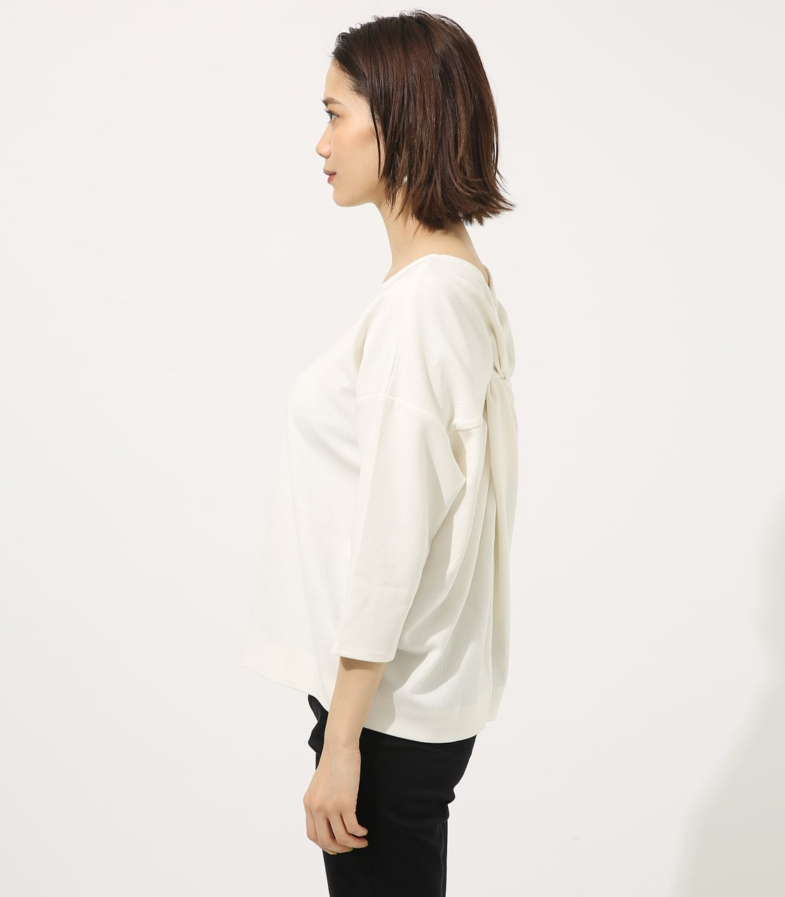 【AZUL BY MOUSSY】BACK TWIST TOPS 詳細画像 O/WHT 5