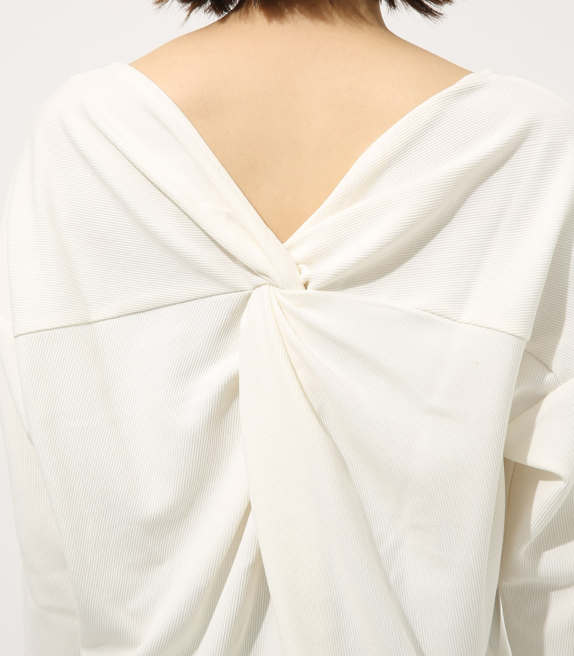 【AZUL BY MOUSSY】BACK TWIST TOPS 詳細画像 O/WHT 7
