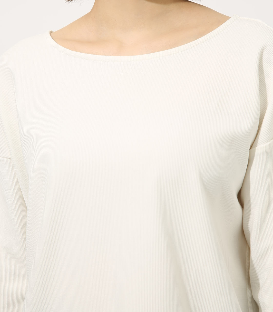 【AZUL BY MOUSSY】BACK TWIST TOPS 詳細画像 O/WHT 8