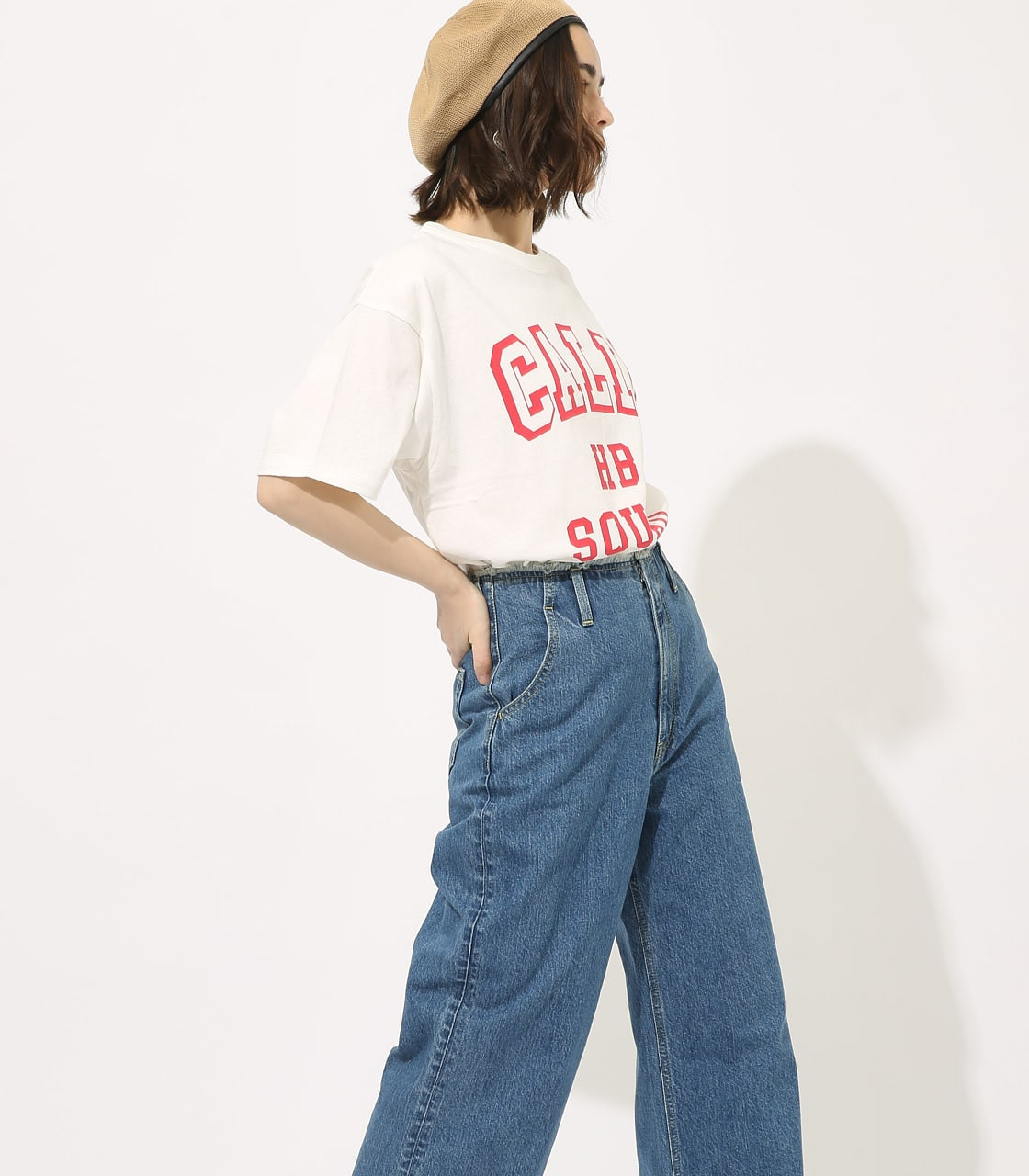 【AZUL BY MOUSSY】CALIF BIG TEE 詳細画像 WHT 2
