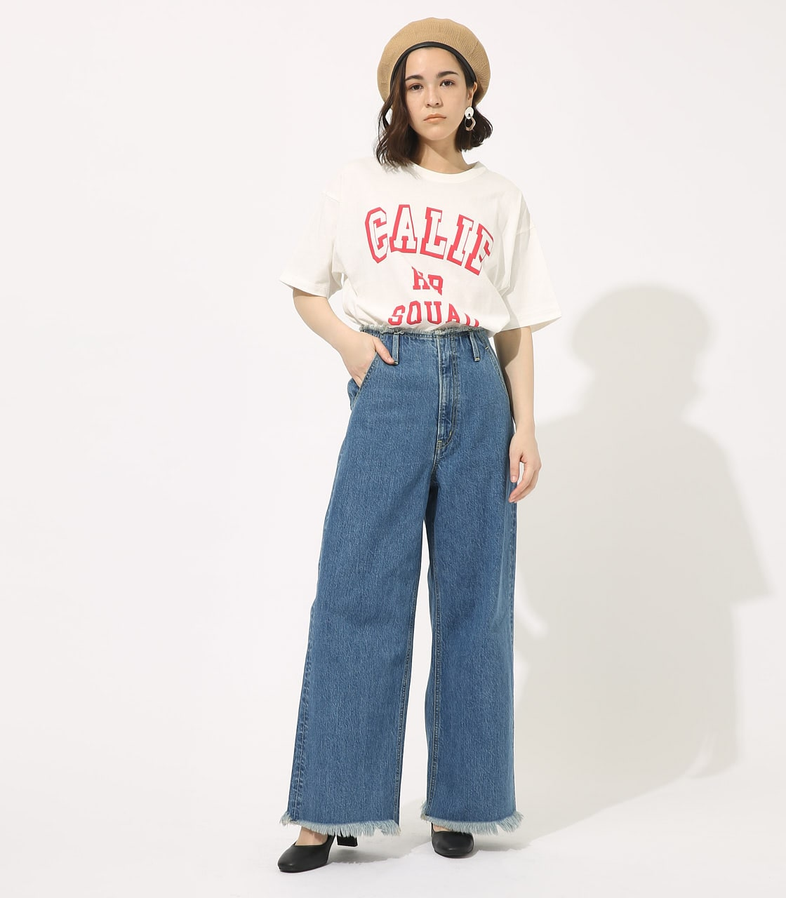 【AZUL BY MOUSSY】CALIF BIG TEE 詳細画像 WHT 3