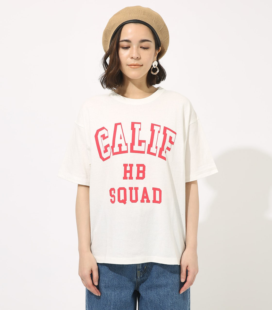 【AZUL BY MOUSSY】CALIF BIG TEE 詳細画像 WHT 4