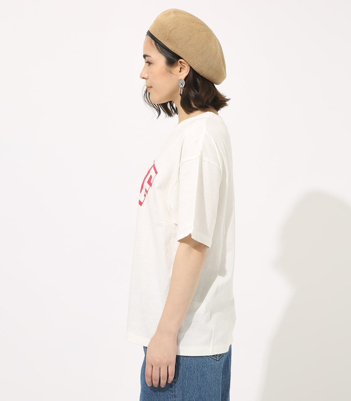 【AZUL BY MOUSSY】CALIF BIG TEE 詳細画像 WHT 5