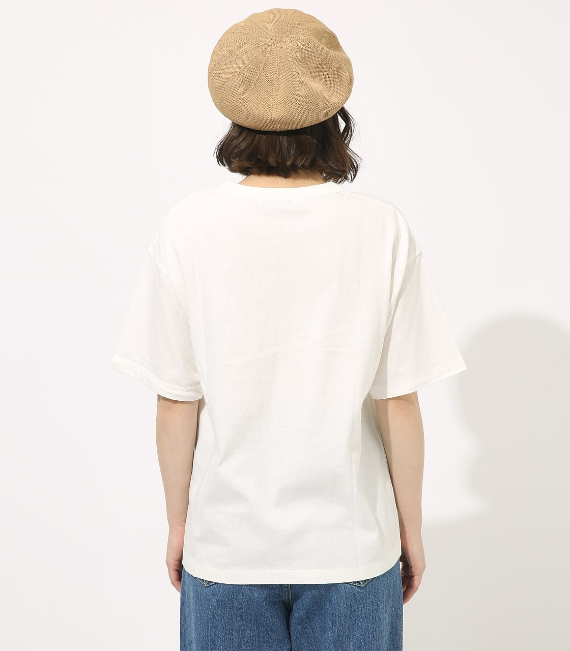 【AZUL BY MOUSSY】CALIF BIG TEE 詳細画像 WHT 6