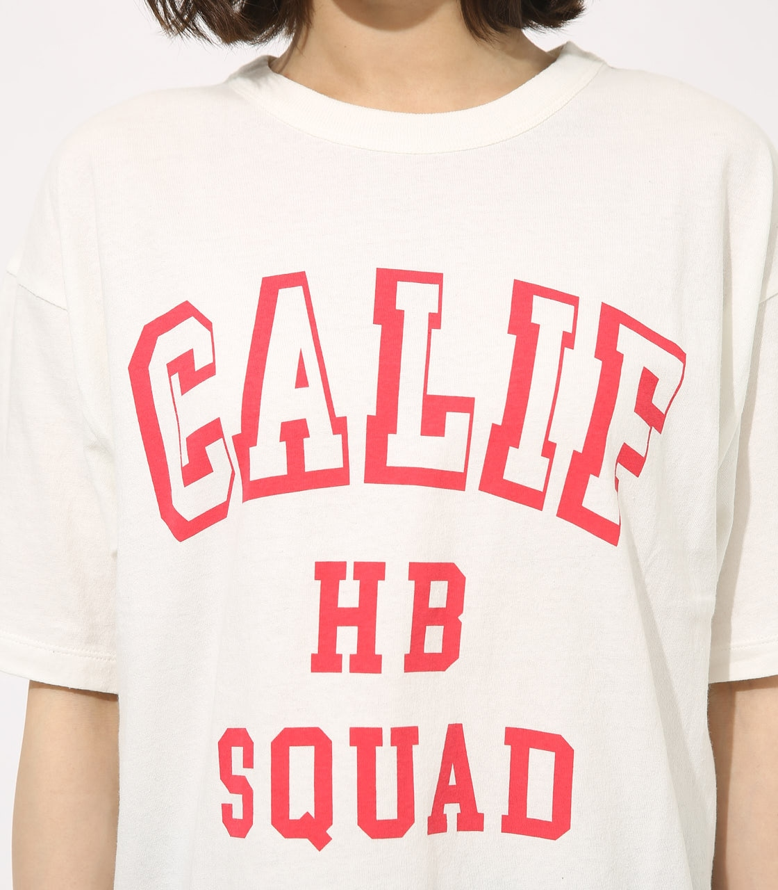 【AZUL BY MOUSSY】CALIF BIG TEE 詳細画像 WHT 7