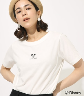 【AZUL BY MOUSSY】POINT MICKEY TEE