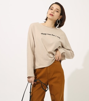【AZUL BY MOUSSY】obay me LONG SLEEVE