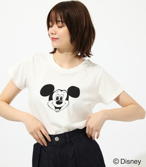 【AZUL BY MOUSSY】MICKEY FACE TEE