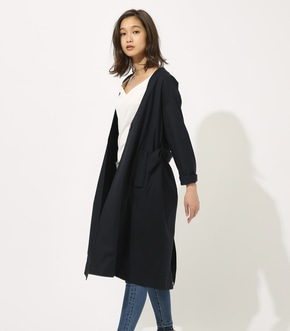 【AZUL BY MOUSSY】カラーレスロングコート