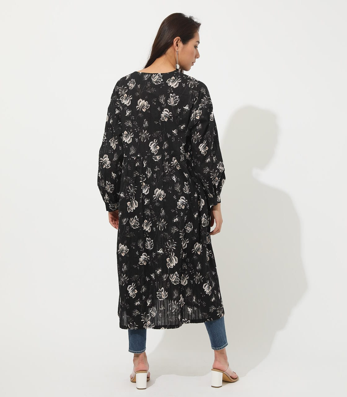 【AZUL BY MOUSSY】FLOWER GOWN 詳細画像 柄BLK 6
