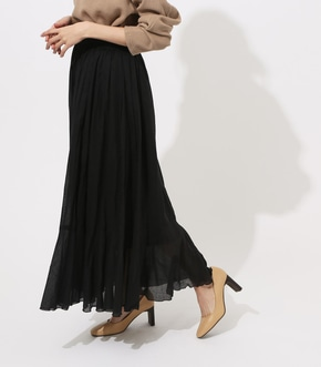 【AZUL BY MOUSSY】WASHER MAXI SKIRT 【MOOK49掲載 90040】