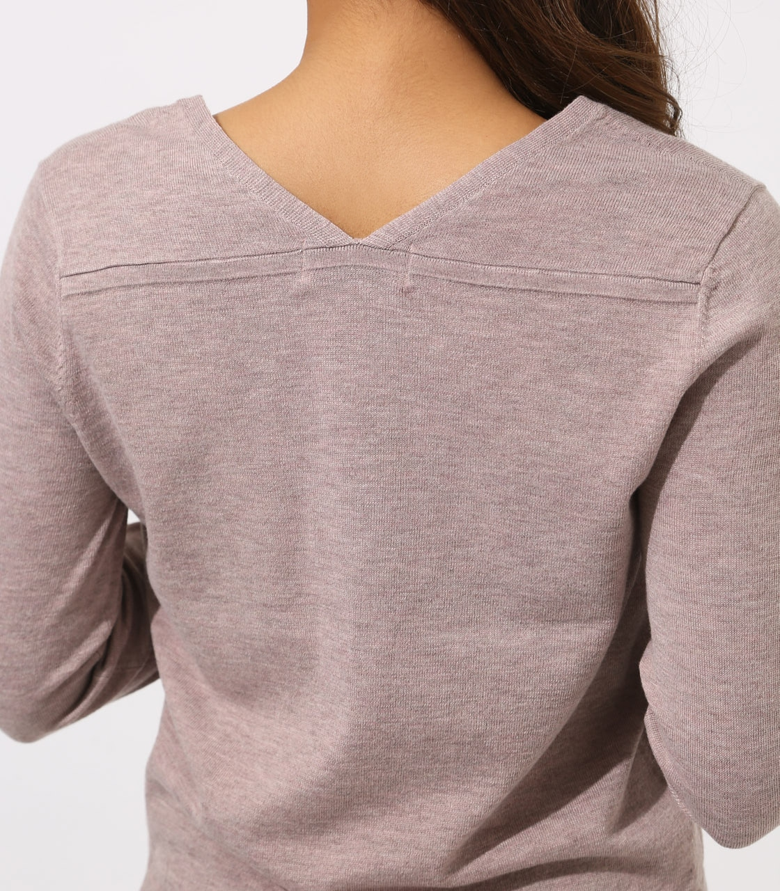 BASIC VNECK KNIT TOPS 詳細画像 BEG 9
