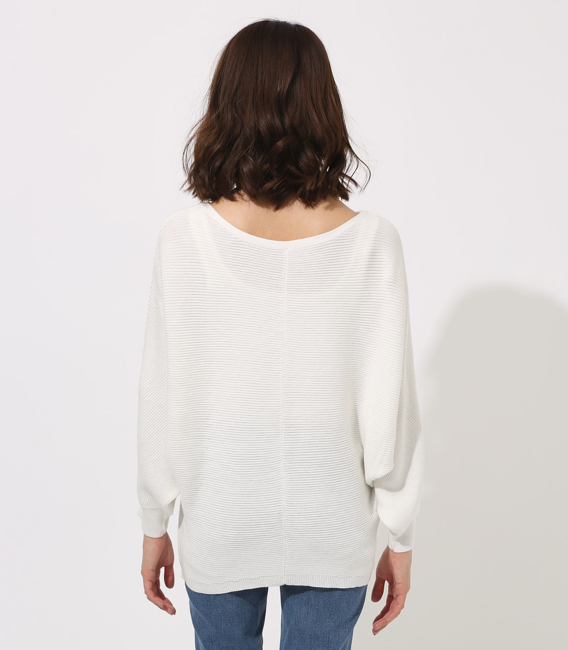 【AZUL BY MOUSSY】2WAY DOLMAN KNIT TOPS 詳細画像 O/WHT 7