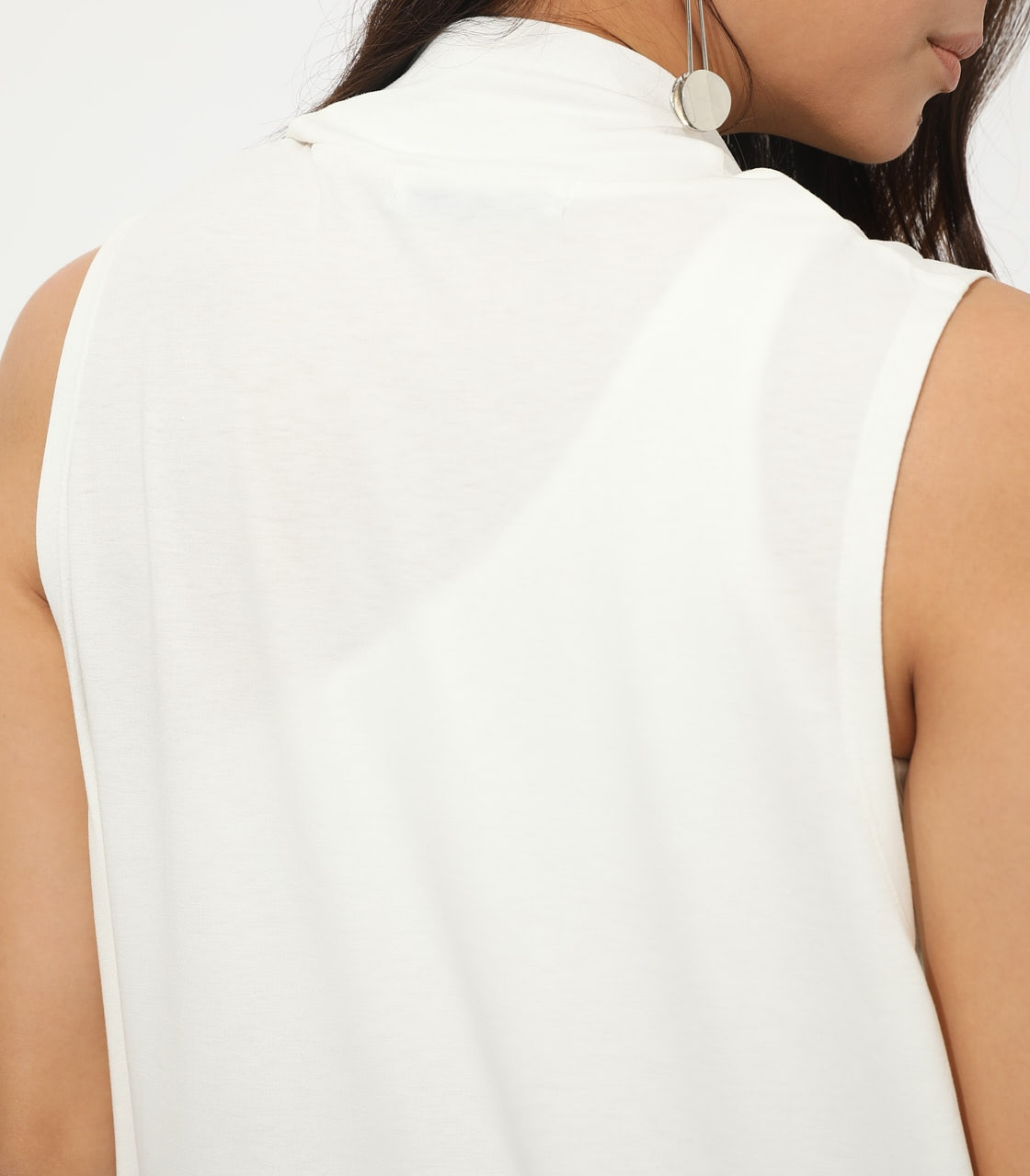 【AZUL BY MOUSSY】ICE CLEAN LONG VEST 詳細画像 O/WHT 8