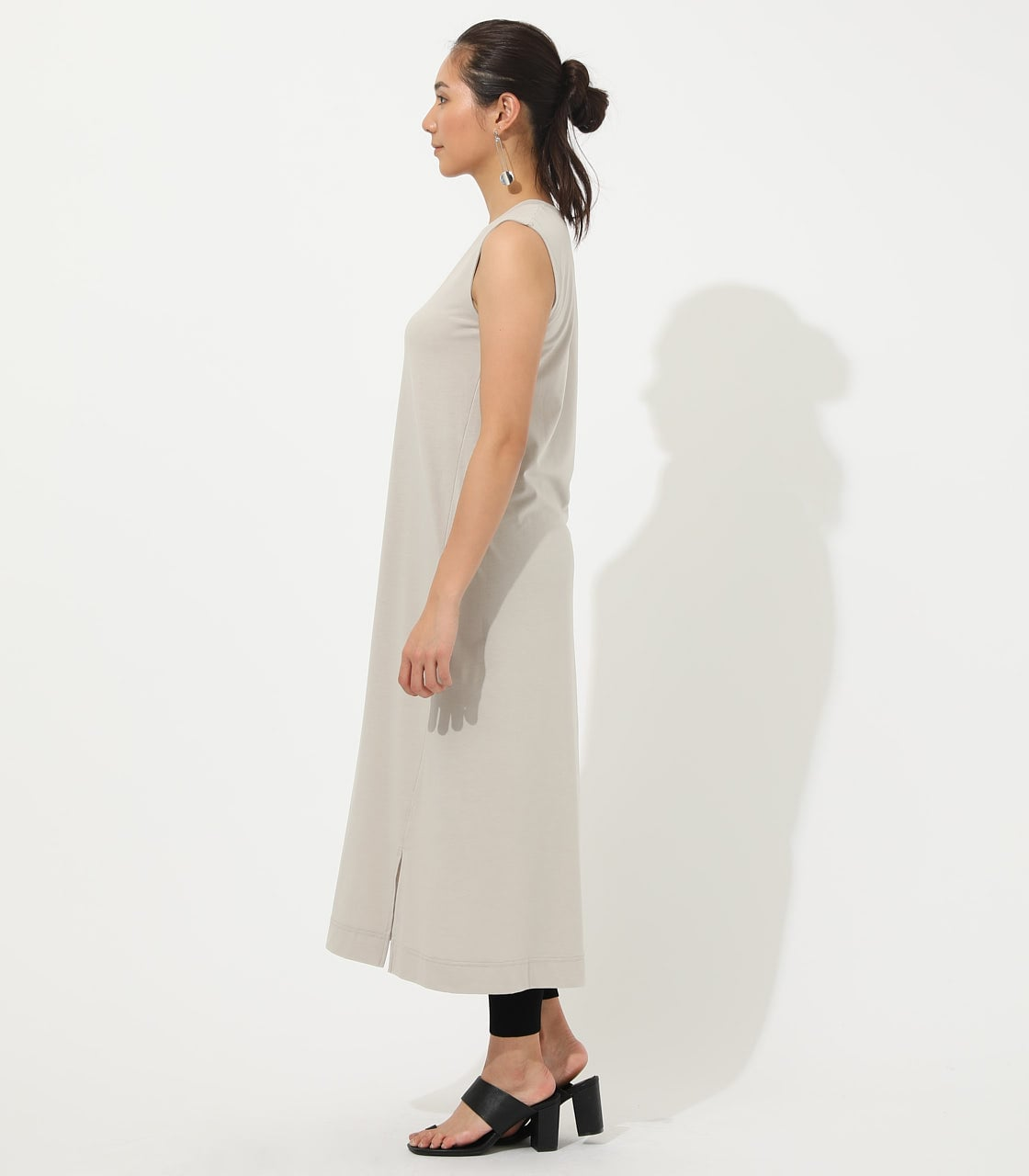 【AZUL BY MOUSSY】ICE CLEAN MAXI ONEPIECE【MOOK50掲載 90150】 詳細画像 L/BEG 5