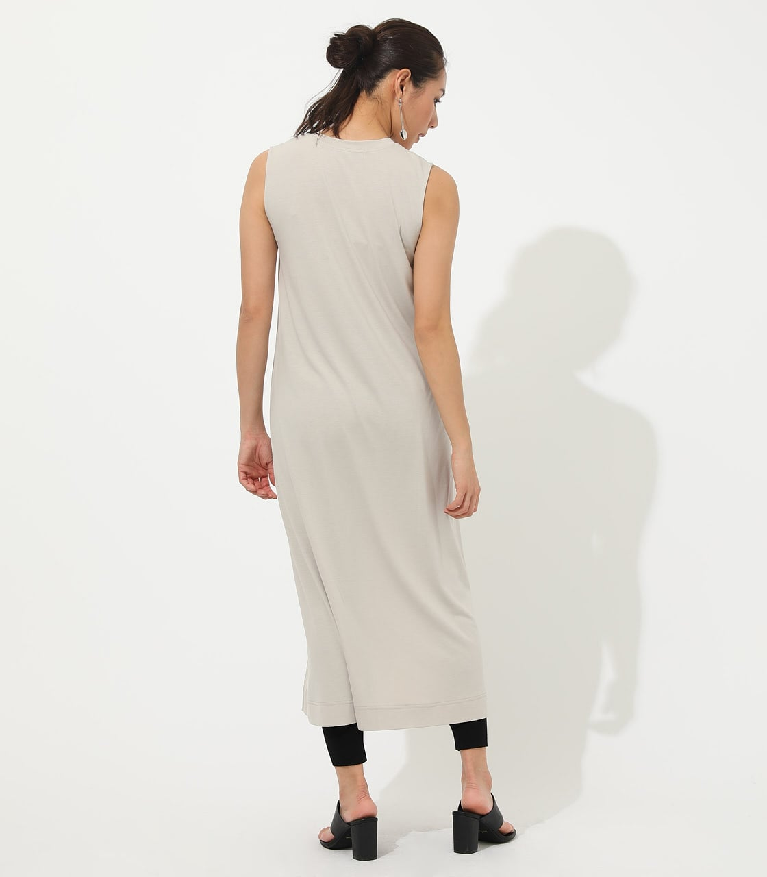 【AZUL BY MOUSSY】ICE CLEAN MAXI ONEPIECE【MOOK50掲載 90150】 詳細画像 L/BEG 6