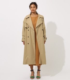 【AZUL BY MOUSSY】VOLUME TRENCH COAT 詳細画像