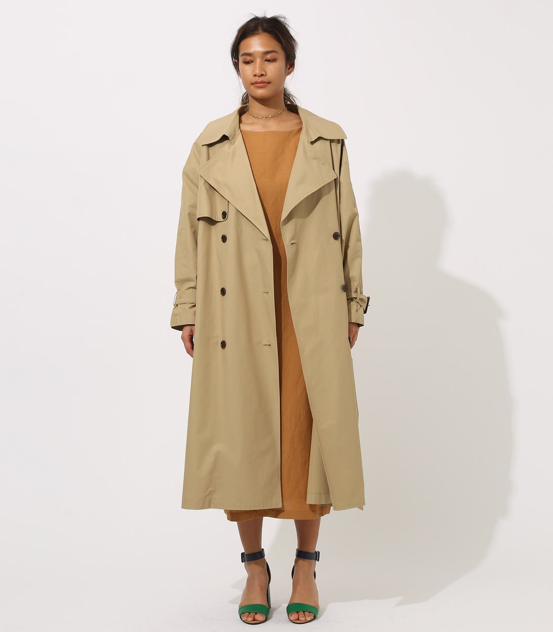 【AZUL BY MOUSSY】VOLUME TRENCH COAT 詳細画像 BEG 5